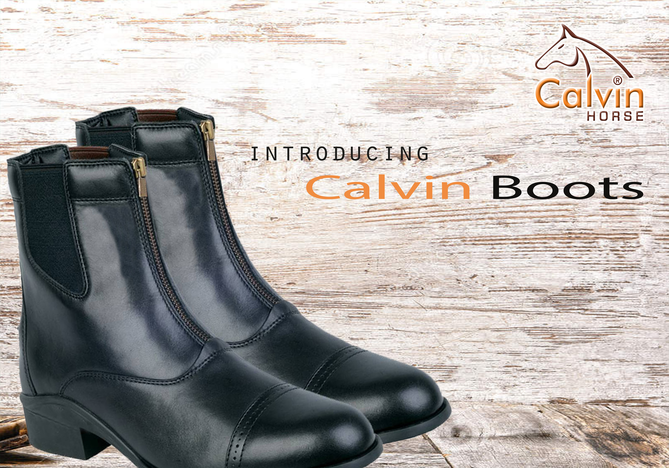 Calvin Horse Boots
